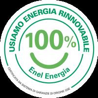 Usiamo energia rinnovabile